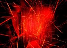 Luz e tecnologia Foto de Stock Royalty Free