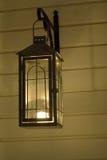 Luz em Candlelantern Foto de Stock
