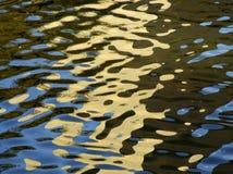 Luz en agua Imagenes de archivo
