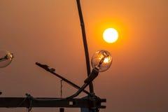 Luz en el barco Imagen de archivo libre de regalías
