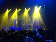 Luz en el concierto Fotografía de archivo