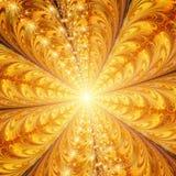 Luz en el extremo del túnel stock de ilustración