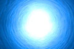 Luz en el extremo del túnel Fotografía de archivo
