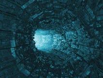 Luz en el extremo del túnel