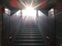 Luz en el final de la subida Imagen de archivo