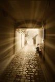 Luz en el túnel imágenes de archivo libres de regalías