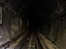 Luz en el túnel Imagen de archivo libre de regalías