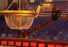 Luz en el teatro Foto de archivo