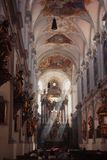 Luz en la iglesia Foto de archivo libre de regalías