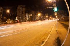 Luz en la noche Fotos de archivo libres de regalías