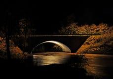 Luz en la obscuridad Foto de archivo libre de regalías