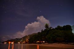 Luz en la playa Imagen de archivo libre de regalías