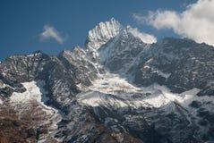 Luz en las montañas Imágenes de archivo libres de regalías