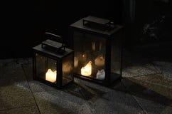 Luz en oscuridad Foto de archivo libre de regalías