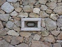 Luz en pared de la roca Imágenes de archivo libres de regalías