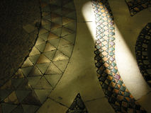 Luz en piedras antiguas Fotografía de archivo libre de regalías