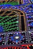 Luz-escultura enorme asombrosa Foto de archivo