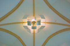 Luz-escultura moderna Foto de archivo