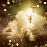 Luz espiritual ilustración del vector