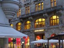 Luz europea de la arquitectura Fotografía de archivo libre de regalías