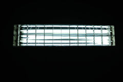Luz fluorescente Imagens de Stock