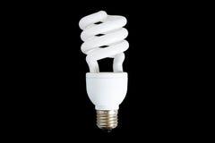 Luz fluorescente da economia de potência Foto de Stock Royalty Free