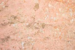 Luz - fundo áspero cor-de-rosa do estuque da quebra Fotografia de Stock Royalty Free