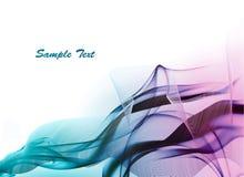 Luz - fundo abstrato azul. ilustração royalty free