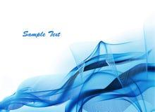 Luz - fundo abstrato azul. ilustração stock