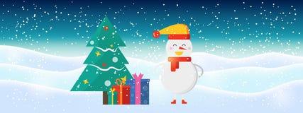 Luz - fundo abstrato azul do Natal com sn efervescente branco imagens de stock