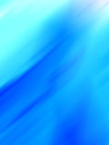 Luz - fundo azul Foto de Stock