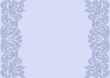 Luz - fundo azul Fotografia de Stock Royalty Free