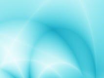 Luz - fundo azul Imagens de Stock Royalty Free