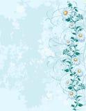 Luz - fundo azul Ilustração Stock