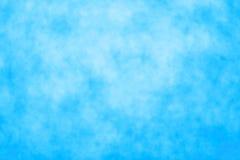 Luz - fundo azul Fotos de Stock