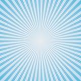 Luz - fundo azul da explosão de cor Fotos de Stock Royalty Free