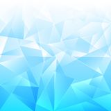 Luz - fundo azul, mosaico bonito Foto de Stock
