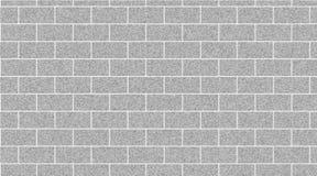 Luz - fundo cinzento do sumário da parede de tijolo Textura dos tijolos Ilustração do vetor ilustração royalty free