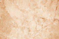 Luz - fundo de mármore marrom da textura, testes padrões luxuosos do papel de parede e efeito de superfície do contexto Imagem de Stock Royalty Free