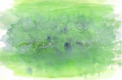 Luz - fundo pintado verde Imagens de Stock