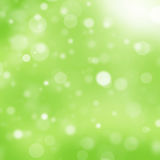 Luz - fundo verde do bokeh Foto de Stock Royalty Free