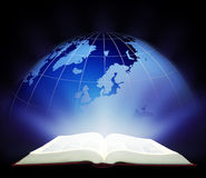Luz global de la educación Fotos de archivo libres de regalías