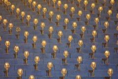 Luz hermosa de la lámpara del círculo Imágenes de archivo libres de regalías