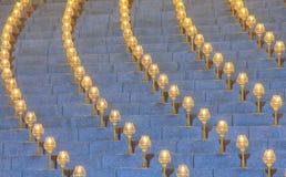 Luz hermosa de la lámpara del círculo Fotografía de archivo