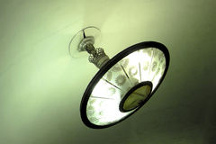 Luz hermosa en el subterráneo St Petersburg Fotos de archivo libres de regalías
