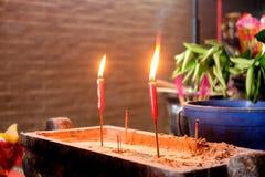 A luz iluminada pela Buda fotografia de stock royalty free
