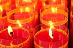 A luz iluminada pela Buda imagens de stock