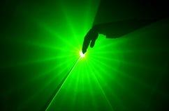 Luz laser imagenes de archivo