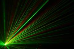 Luz laser fotografía de archivo libre de regalías