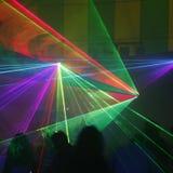 Luz laser Imagen de archivo